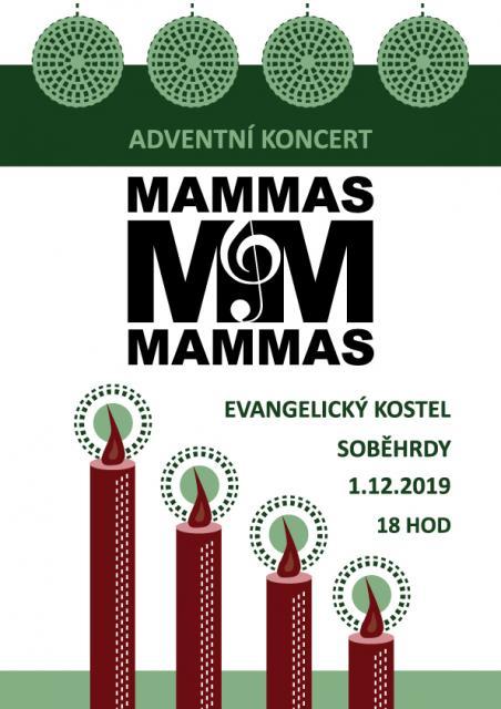 Koncert Mammas&Mammas 1.12.2019