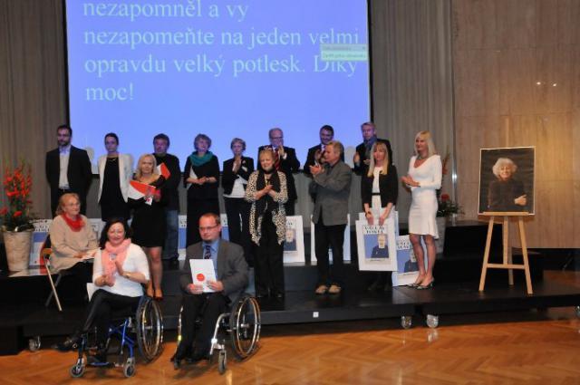 Ocenění ředitele čerčanského hospice